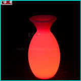 Colorer le vase s'arrêtant décoratif contrôlable à la lampe RVB avec l'éclairage DEL