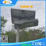 15W, 20W, 30W, 40W, 50W integrierte Solar-Garten-Licht der LED-Straßenlaterne-LED