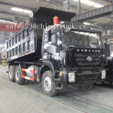 Iveco 기술 최고 질 50t Hongyan Genlyon 6X4 덤프 트럭 팁 주는 사람 트럭을%s