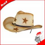 2017 sombreros de paja del sombrero de vaquero de la manera
