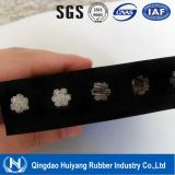 Конвейерная резины шнура ячеистой сети Китая St2000 усиленная стальная