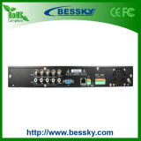 Shezhen HD Security y Network DVR 4CH. Vídeo casero completo DVR del registrador del CCTV H264 D1