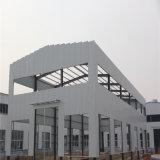 Taller de la estructura de acero de dos cuestas para procesar el material