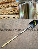 Palillo redondo de madera de Rod que muele la máquina roscada