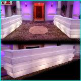 Sofà esterno del LED del sofà LED della presidenza ricaricabile LED del sofà