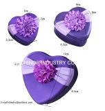 Schöne Heart-Shaped Zinn-Kasten-Klagen mit Rosen-Muster