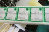 Pirnted 서류상 접착성 스티커 PVC 자동 접착 레이블 (Z036)
