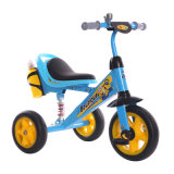 Fahrt auf Rad-Dreirad der Energien-Dreiradfahrrad-Gelb-Farben-3, damit Kinder an reiten