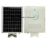 Fabrik-Zubehör 8W 18W 20W 25W 30W 50W 80W alle in einem Solarstraßenlaternemit Bewegungs-Fühler/integrierte Solarlicht für im Freien