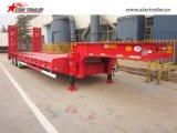 3axles 50-70ton niedriger Ladevorrichtungs-Schlussteil-niedriger Plattform-Schlussteil