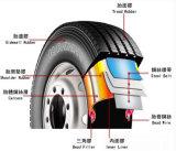 中国のタイヤの会社は卸し売りする半トラックで運ぶタイヤ(11R22.5)を