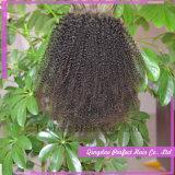 Chiusura superiore bassa di seta dei capelli del merletto dei capelli umani della chiusura