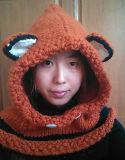 온난한 연약한 귀여운 재미있은 Fox 동물성 당 모자