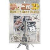 DIY obstrui o brinquedo do enigma da torre Eiffel 3D