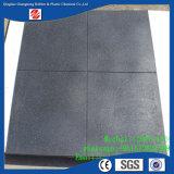 Azulejo de suelo de goma suave, azulejo de goma Desgastar-Resistente, azulejo de goma del 1m