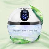 Purificador a base de agua del aire con dimensión de una variable del globo