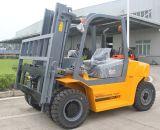 6m anhebender Höhen-Gabelstapler 5 Tonnechariot-Diesel Prix