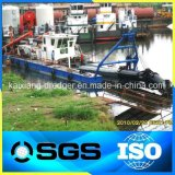 Kaixiang 판매를 위한 직업적인 유압 강 모래 준설선 절단기 흡입 준설선--CSD200