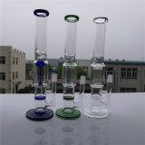 Goode Glasswholesale bereiten Glaspfeife-Wasser-Rohr preiswerte Perc Pfeife-Bienenwabe-Glaswasser-Rohr auf