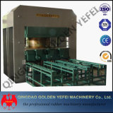 Máquina de borracha Vulcanizing lateral do Vulcanizer da imprensa da laje de China