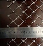 建築正面のステンレス鋼ケーブルの網をXであって下さい