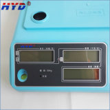 Escala electrónica grande de la tasación del indicador digital del LCD