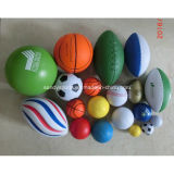 Capretti come pallacanestro differente di sforzo della gomma piuma dell'unità di elaborazione di formato