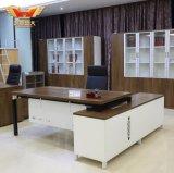 L形の事務机、現代オフィスの管理表