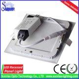 el panel cuadrado ahuecado 18W del LED/abajo/luz de techo/lámpara