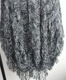 Las señoras el 100% acrílico Fancy Yarn Jersey de punto suéter