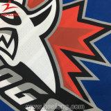 Healong cortó y los uniformes cortos de costura de Jersey del hockey sobre hielo de la funda