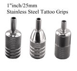 Tatouage Supplies - Hot Stainless Steel Tattoo Grips (16mm, 19mm, 22mm, 25mm, 30mm disponibles)