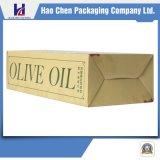 Caixa ondulada da boa qualidade para o pacote do óleo verde-oliva