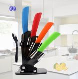 """3-6 """" нож кухни дюйма керамический установил с рисбермой инструмента (ZJ-0042)"""