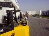 2ton Vorkheftruck van 3 van de Ton van Nissan van de Motor de Dubbele van de Brandstof LPG van het Gas met Ce- Certificaat