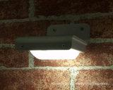 건전지를 가진 벽 점화 LED 태양 움직임 옥외 태양 빛