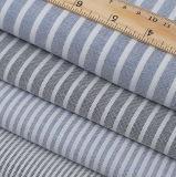 Il cotone 100% barra il fabbricato della camicia di Oxford tinto filato
