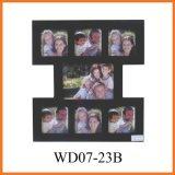Черная картинная рамка коллажа 7-Opening (WD07-23B)