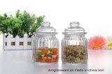choc en verre de la sucrerie 200ml avec le couvercle en verre