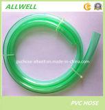 Boyau de niveau transparent clair flexible de conduite d'eau de boyau de PVC de plastique