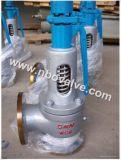 Soupape de sécurité à hautes températures de sûreté avec le Handlever (As48Y)