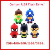 Mecanismo impulsor del flash del USB de memoria Flash del USB Pendrive de la historieta