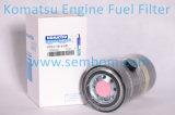 Filtro de combustível do motor de alto desempenho para escavadeira Komatsu / Loader / Bulldozer