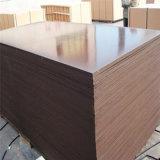 As placas impermeáveis de Formply da madeira compensada do molde/película enfrentaram a madeira compensada para o concreto Shuttering