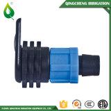 Accessorio per tubi del sistema a acqua blu di irrigazione goccia a goccia micro