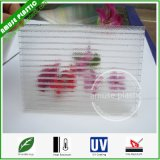 Лист 100% полости поликарбоната Твиновск-Стены PC девственницы кристаллический замороженный листом