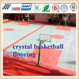 Fábrica de China de cancha de básquet de goma al aire libre del suelo
