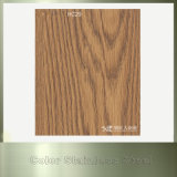 Stahlprodukt-hölzernes Korn Belüftung-Farben-Edelstahl-Blatt