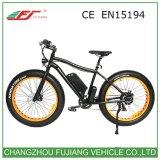 48V 500W 전기 자전거 뚱뚱한 타이어 전기 자전거