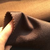 PVC facile de nettoyage regardant le tissu de sofa de velours (621)